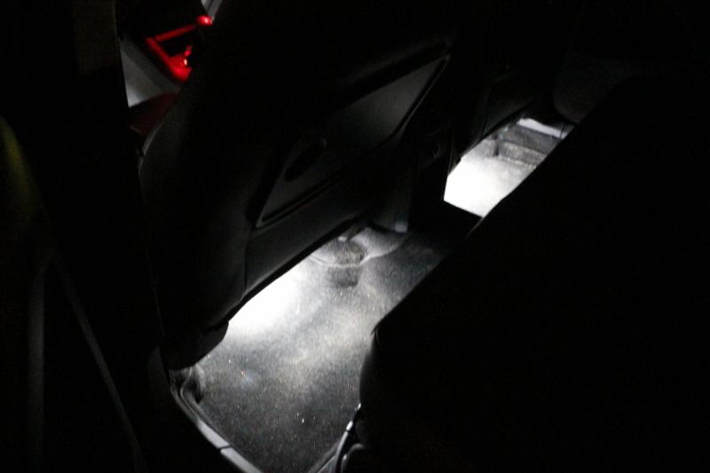 LED подсветка ног двухрежимная