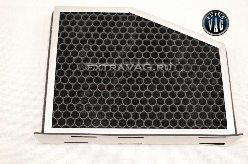 Салонный HEPA фильтр с угольными гранулами.