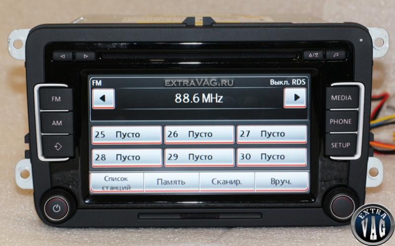 RCD 510 BOSCH без видеовхода