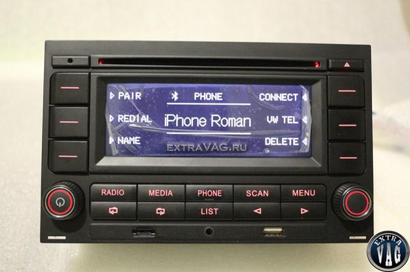 МАГНИТОЛА ДЛЯ PASSAT B5, GOLF4 С USB, БЛЮТУС, MP3