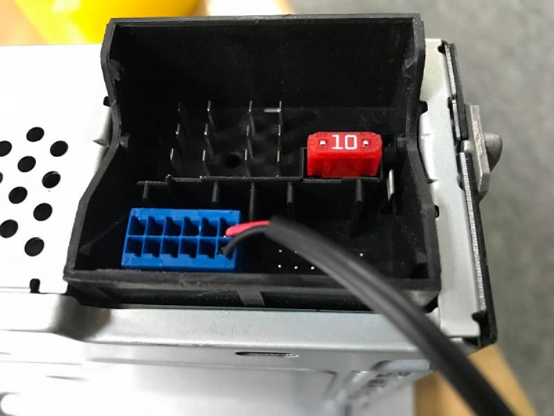 Переходник для подключения видеокамеры к RCD 330G