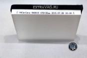 Сменный картридж для допфильтра типа ЛЮКС белый